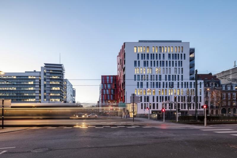 Alternative acousticien des bureaux de La Madeleine sur Euralille